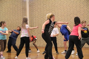 Schoolproject Werelddans met Dansgezelschap Project Sally Maastricht